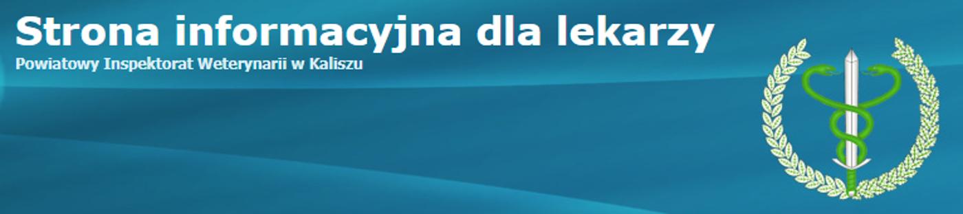 Strona informacyjna dla lekarzy - PIW Kalisz